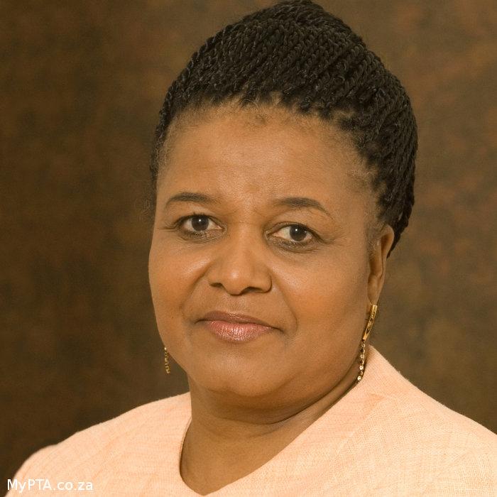 Environmental Minister Edna Molewa
