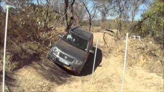 Suzuki Grand Vitara 2.4 AT Traction Control At G-Extreme Track Pretoria
