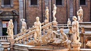 Palermo, Sicilia - Fontana Pretoria - Sicily Italy / Italia - Turismo travel tourism visit tour
